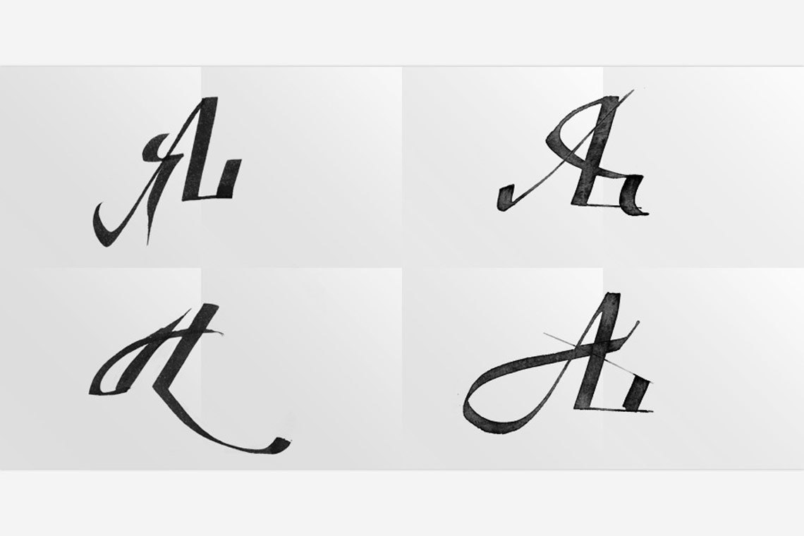 Monogram Sketches