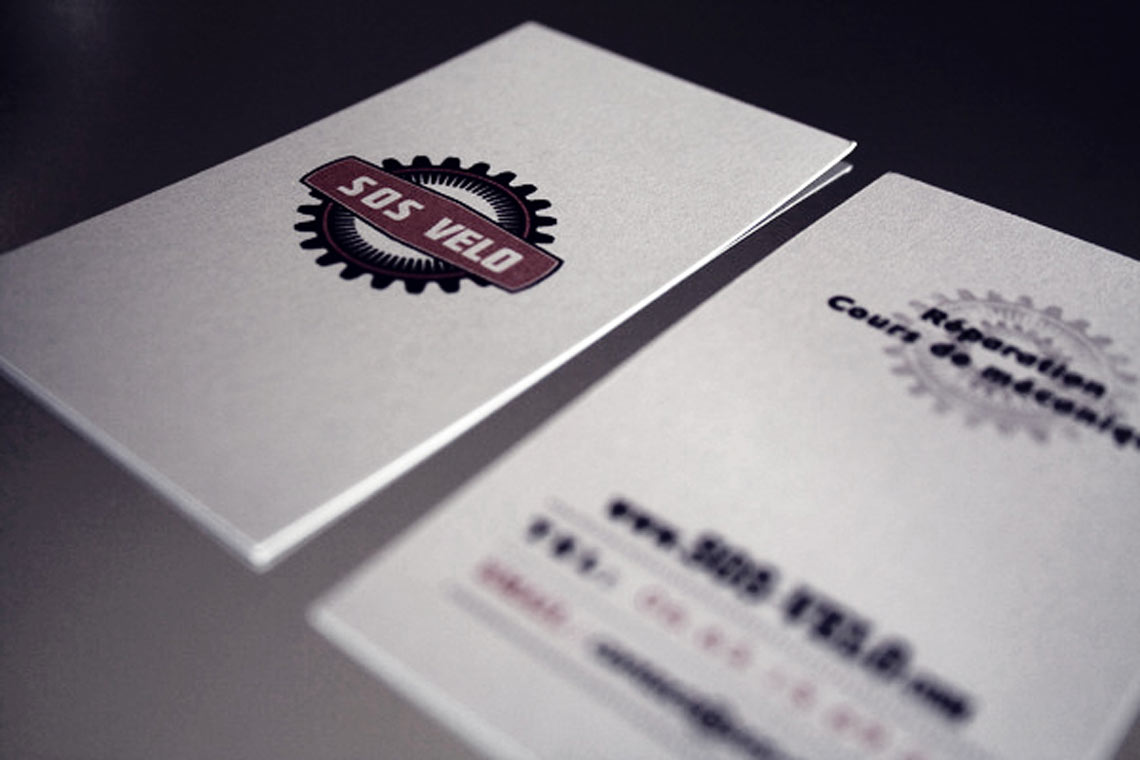 SOS Velo Business Cards